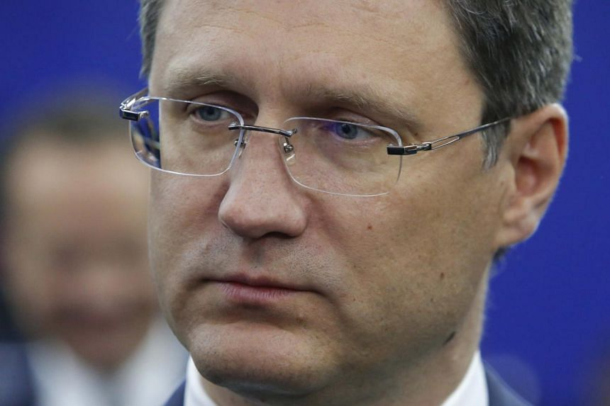 Russian Energy Minister Alexander Novak attends a session of the St. Petersburg International Economic Forum (SPIEF), Russia on June 2, 2017.