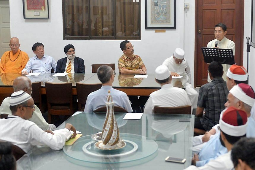 SMS Maliki Osman is joined by religious leaders from the Muslim, Buddhist, Taoist, Sikh and Christian faiths gathered at Ba'alwie Mosque to share a collective reflection on the recent terror events, and reiterate that terrorism has no faith, on June