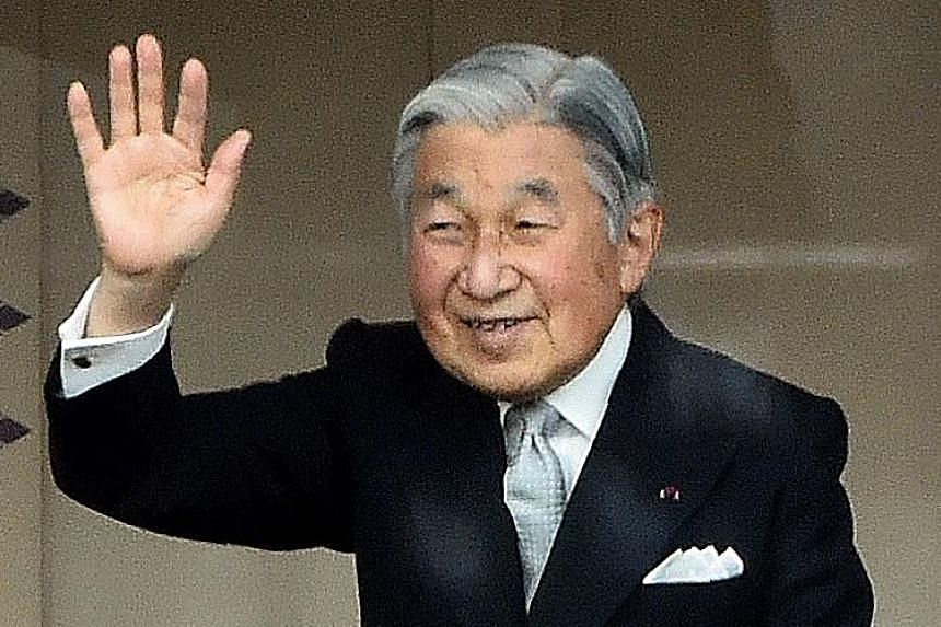 """Emperor Akihito will assume the title """"joko"""" (Grand Emperor) after stepping down."""