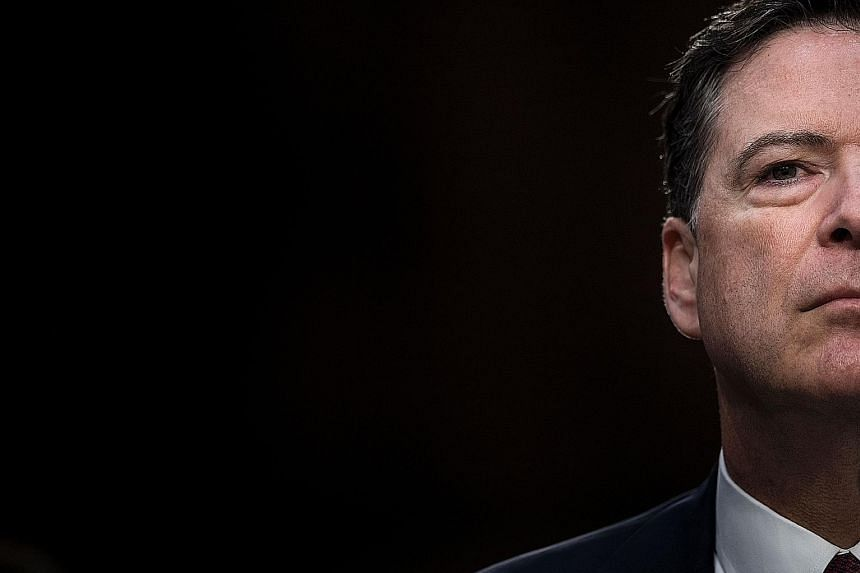 Ousted FBI director James Comey was alternately searingly blunt and tepidly cautious as he testified before the Senate Intelligence Committee on Capitol Hill for more than two hours on Thursday.