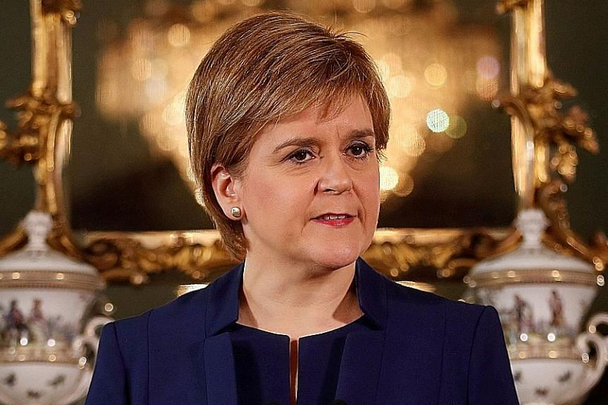 Ms Nicola Sturgeon said the focus on independence was a factor in her party's poor result.