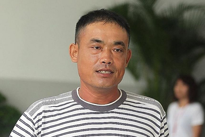 For causing annoyance to the public, Wang Jianpo, 39, received the maximum fine yesterday after he pleaded guilty.