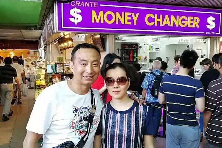The couple from China notified the money changer of the mistake in its calculation and returned the excess amount.