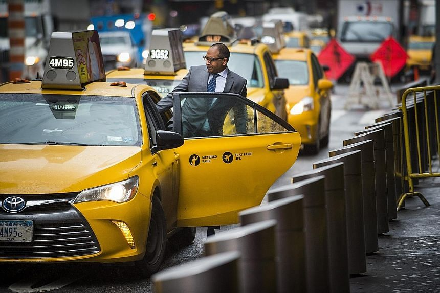 The yellow cab industry has lost ground to Uber, Lyft and other ride-hailing apps.