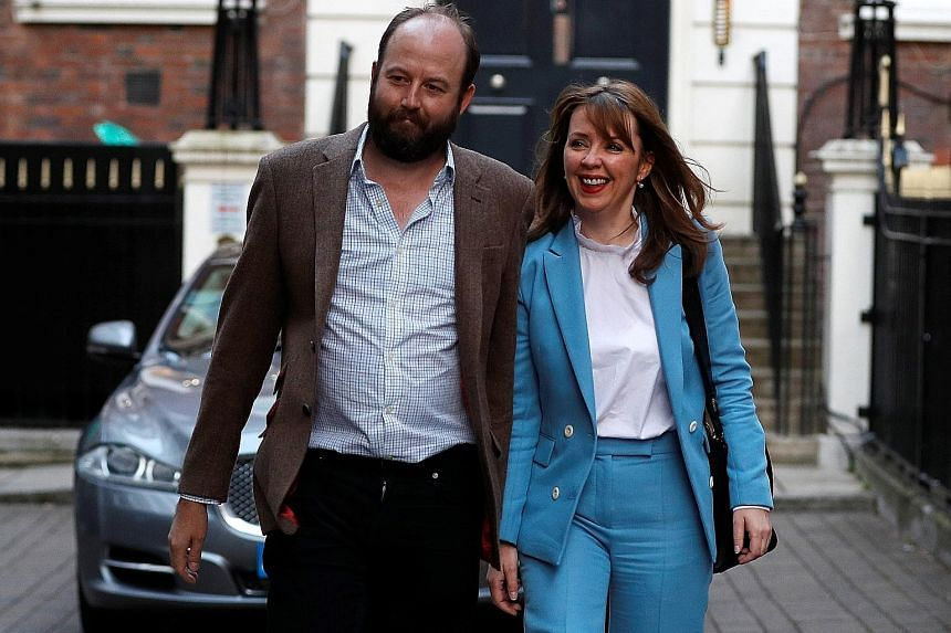 Mrs May's chiefs of staff Nick Timothy and Fiona Hill resigned yesterday after Conservative Party MPs issued an ultimatum. British Prime Minister Theresa May delivering a statement outside 10 Downing Street last Friday after the general election a da