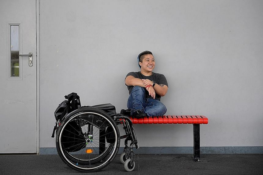 It has taken 30-year-old Paralympic swimmer Theresa Goh half her life to reach this point where, as an ambassador for this year's Pink Dot rally, she wants to be open about her sexuality - that she is gay.