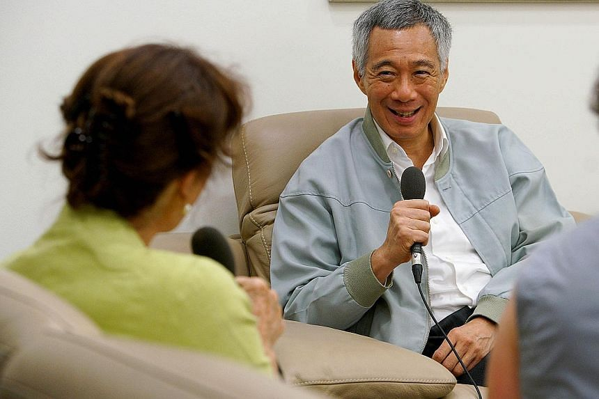 In his interview with Australia's ABC Radio National, Prime Minister Lee Hsien Loong said he sees China's influence in the region continuing to grow.