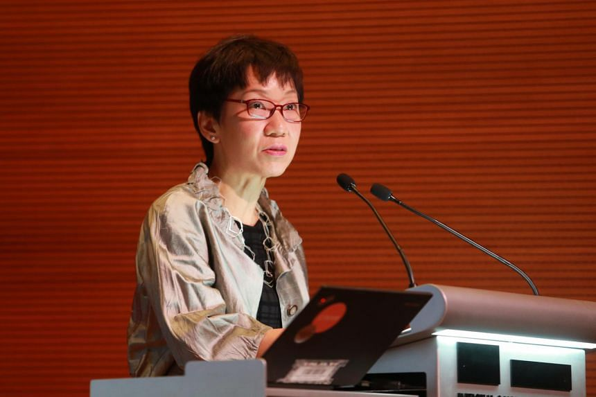 Minister for Culture, Community and Youth Grace Fu (pictured) will be meeting China's Culture Minister Luo Shugang.
