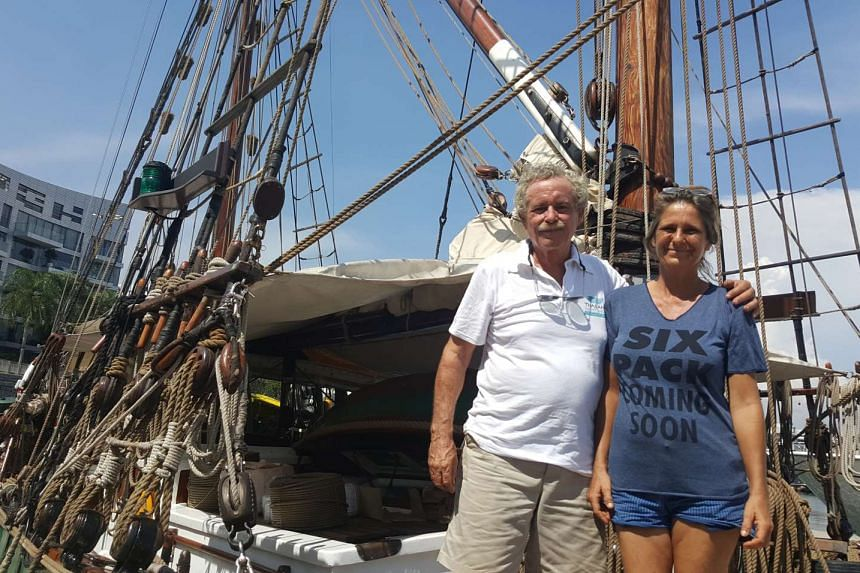 Captain Shane Granger and his wife Meggi Macoun have been delivering medical and educational supplies to isolated islands for the past 13 years.