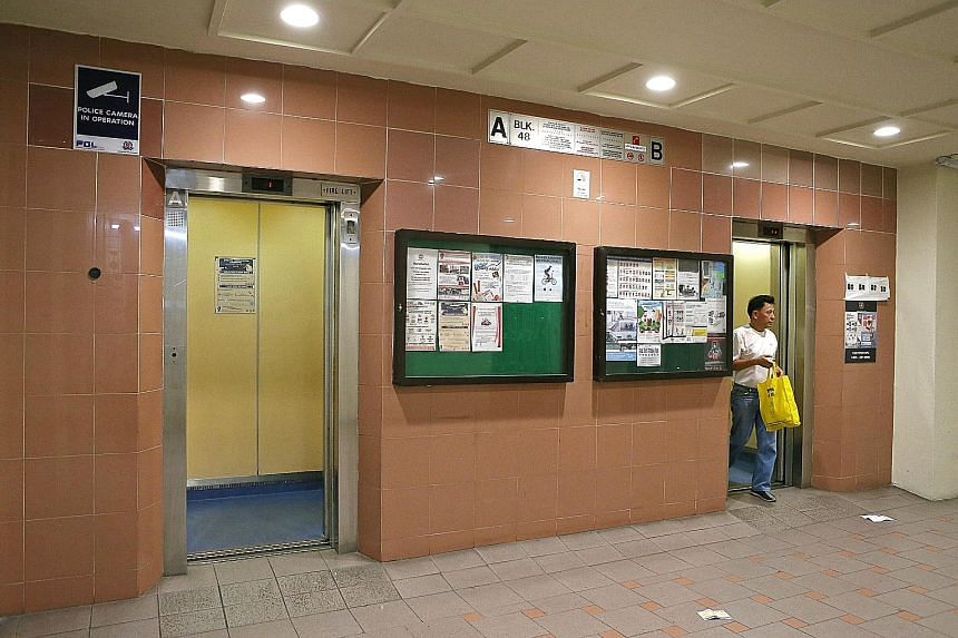 HDB residents were told that the lifts were monitored by a tele-monitoring system. But when a man was trapped in a lift recently, the alarm did not work and he could not call for help as there was no mobile signal.