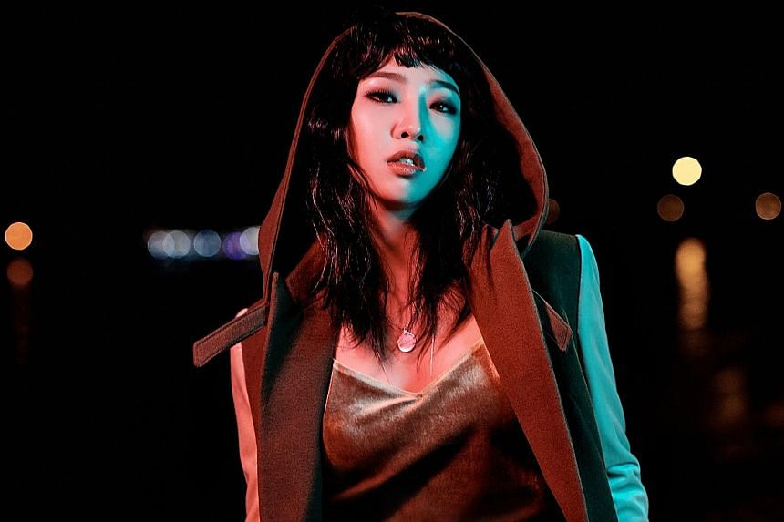 Minzy wrote all the tracks on her debut EP, Minzy Work 01 Uno, which was released in April.