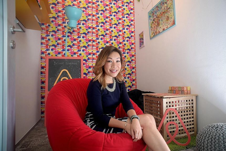 "Ms Robin Kwok, Airbnb country manager for South-east Asia, Hong Kong and Taiwan, said the firm is ""very optimistic"" that short-term rentals here will be legalised."