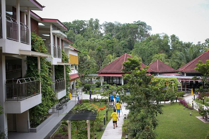 The Bukit Batok Home for the Aged has schemes to train its 185 residents in areas like financial management, with the aim of helping them achieve self-reliance. Six of the 12 welfare homes here are in Pelangi Village, a social welfare complex near th