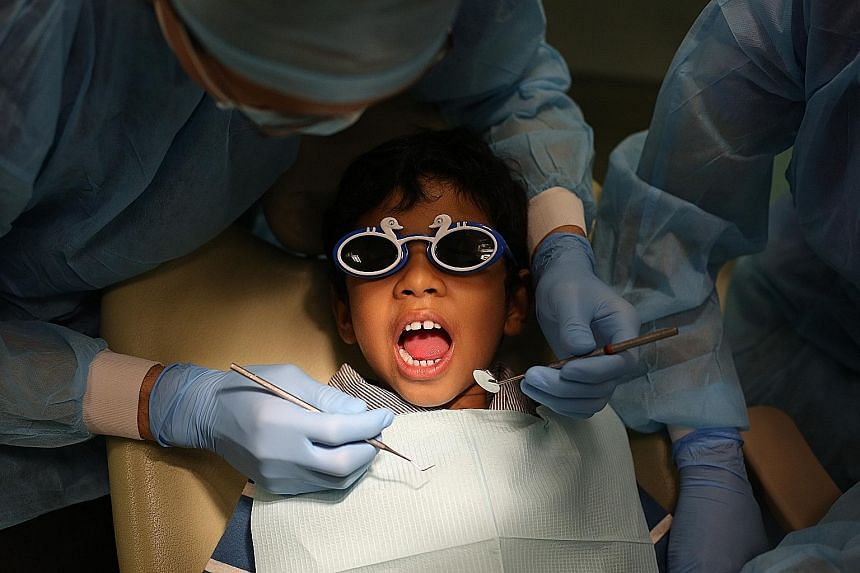 Dentists say parents should take their children to a dentist by the age of one and use the right fluoridated toothpaste. Children should also not be allowed to fall asleep with a bottle containing sweet liquids like formula milk.