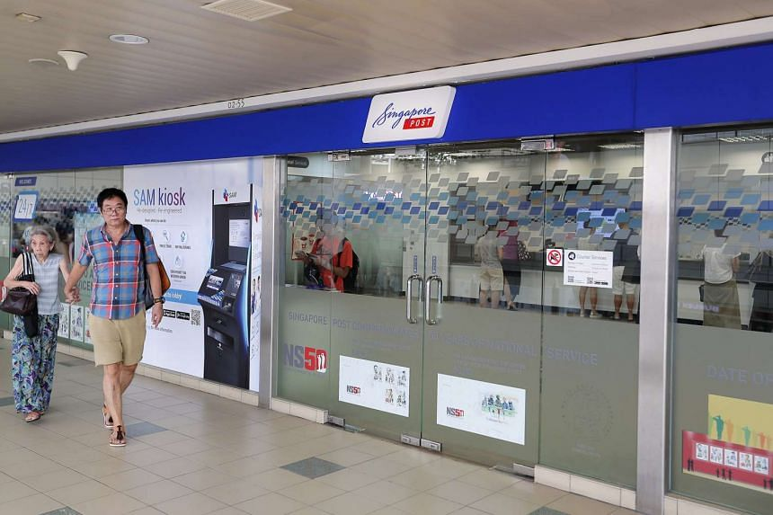 SingPost at Toa Payoh Central.
