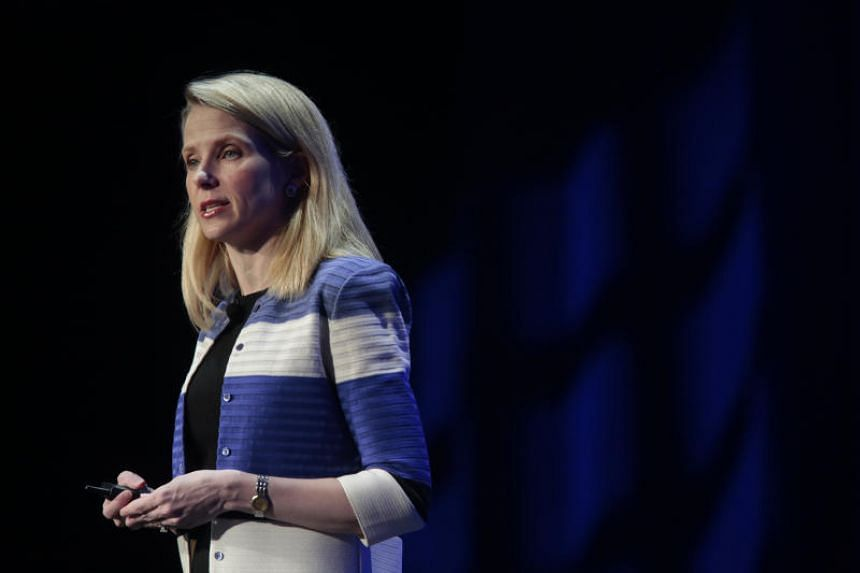 Marissa Mayer delivers the keynote at the Yahoo Mobile Developers Conference in San Francisco on Feb 18, 2016.