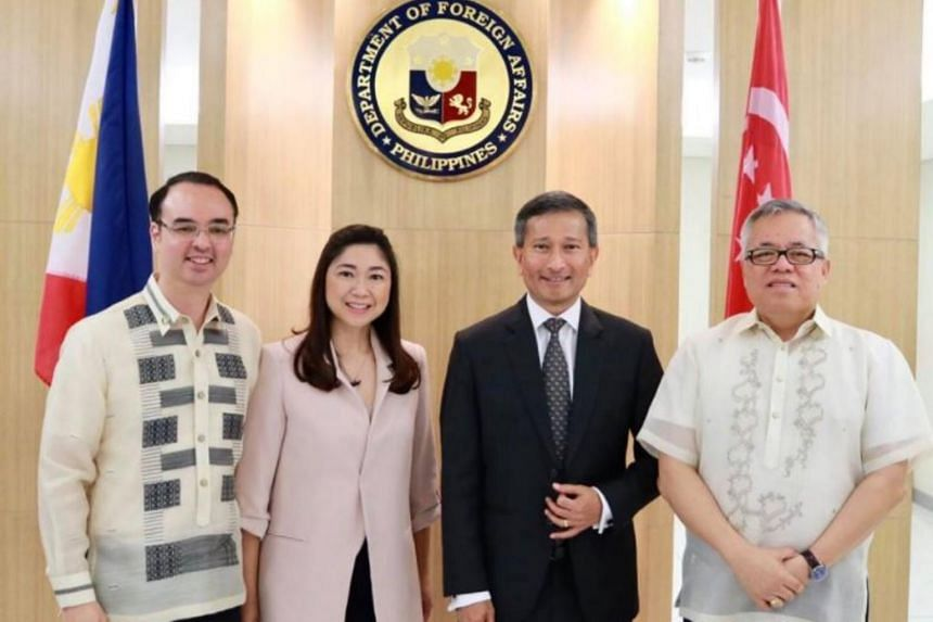 Minister for Foreign Affairs Dr Vivian Balakrishnan was in Manila on Tuesday (June 13) for an introductory visit to the Philippines.
