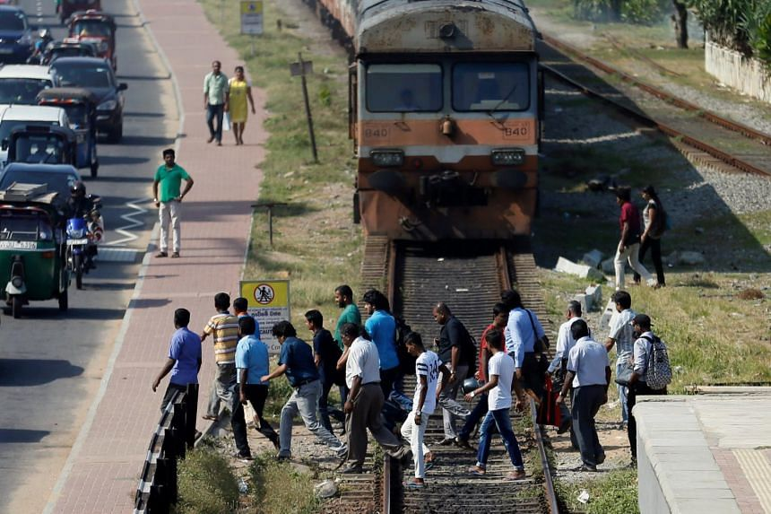Sri Lankan railway authorities announced that they are beginning to deploy security staff to arrest those walking on the tracks and taking selfies in front of moving trains.