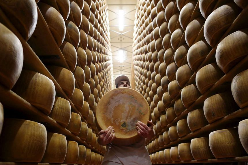 Buy cheese in bricks rather than in grated form to ensure authenticity. PHOTO: REUTERS