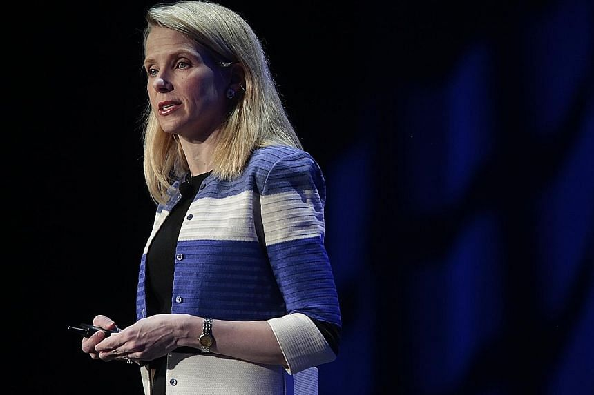 Ms Marissa Mayer became Yahoo's CEO in 2012, and went on a buying spree that included a US$1 billion acquisition of blogging platform Tumblr.