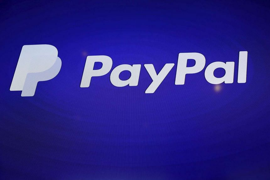 A PayPal logo seen during an event in San Francisco.