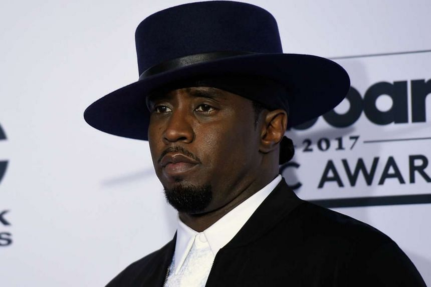 Sean 'Diddy' Combs poses during the 2017 Billboard Music Awards on May 21, 2017