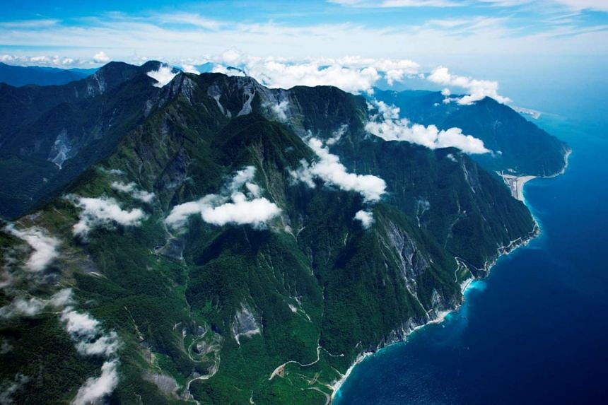 Film-maker Chi Po-lin took 400 hours in the air to shoot Beyond Beauty: Taiwan From Above (above).