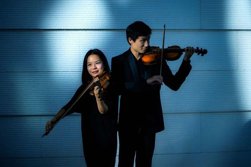 Kam Ning (left) and Loh Jun Hong will be performing together for the first time at the show.