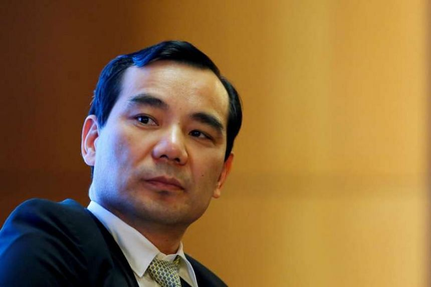 Chairman of Anbang Insurance Group Wu Xiaohui attends the China Development Forum in Beijing, China on March 18, 2017.