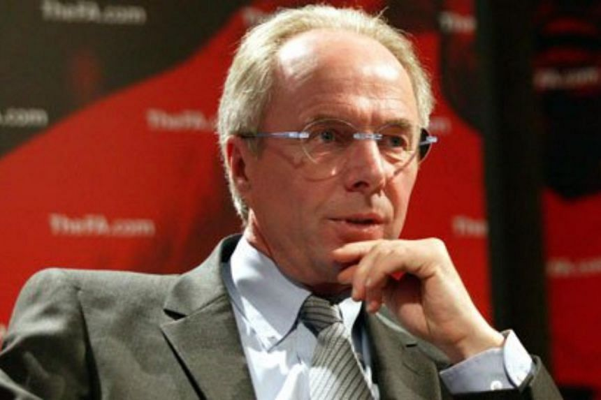 Former England coach Sven-Goran Eriksson was shown the door at China's second-tier Shenzhen FC on Wednesday after they have not won a game since mid-April.