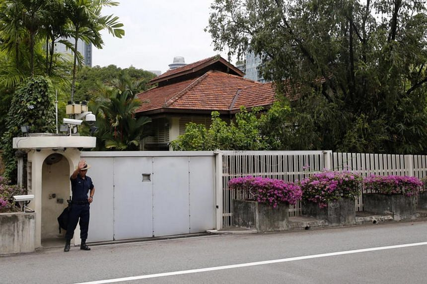 Cabinet secretary Tan Kee Yong said an internal ministerial committee was set up by the Cabinet to consider the options for late Prime Minister Lee Kuan Yew's home at 38 Oxley and the implications of those options.