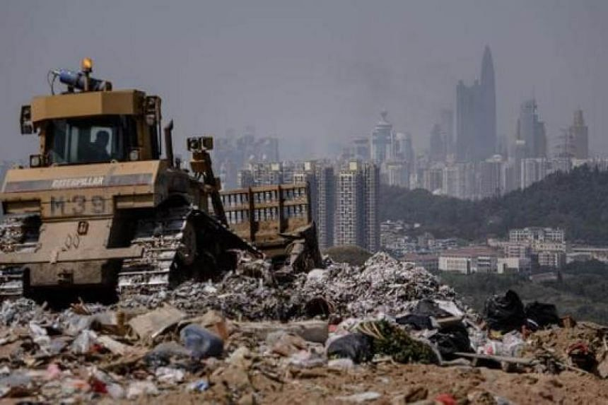 Hong Kong is struggling to keep pace with a growing waste problem in one of the world's most densely populated cities.