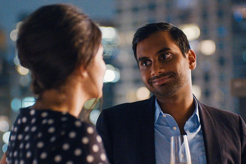 Aziz Ansari's (right) role as the romantic lead in Master Of None surprised many critics and viewers. But the actor and his collaborator, Alan Yang, say they were just writing about their own lives.