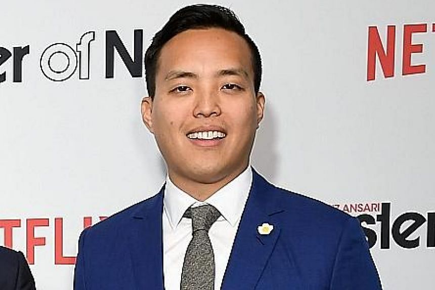 Aziz Ansari's role as the romantic lead in Master Of None surprised many critics and viewers. But the actor and his collaborator, Alan Yang (above), say they were just writing about their own lives.