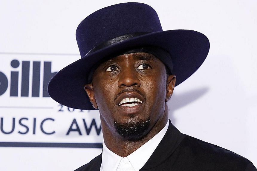"""Sean """"Diddy"""" Combs."""