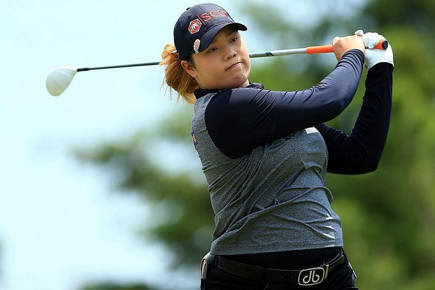 Ariya Jutanugarn of Thailand in action at last week's Manulife LPGA Classic, which she won to confirm her world No. 1 spot.