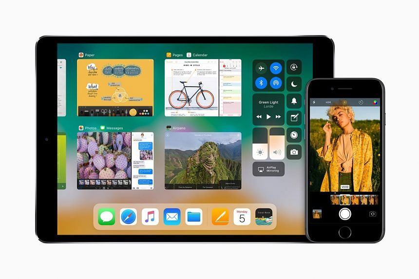 Among iOS 11's new features are the Live Photos new effects, Siri's multi-language prowess and improved Notes functions.