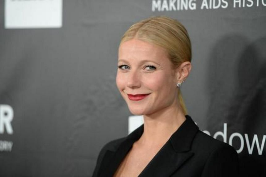 Actress Gwyneth Paltrow attends amfAR's fifth annual Inspiration Gala in Los Angeles, on October 29, 2014.