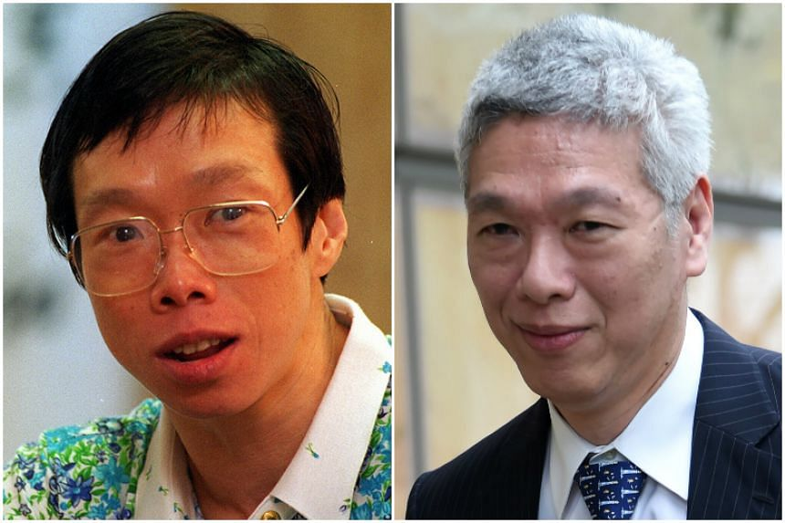 "Dr Lee Wei Ling said on Thursday (June 15) that she and Mr Lee Hsien Yang (right) would not have issued a public statement if the dispute with their brother, Prime Minister Lee Hsien Loong, over their late father's house ""were merely a family affair"""
