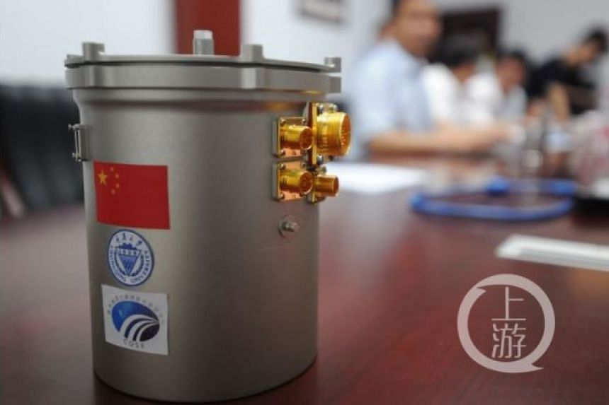 """The """"mini ecosystem"""" is just 18cm tall and weighs 3kg. PHOTO: THE CHONGQING MORNING POST"""