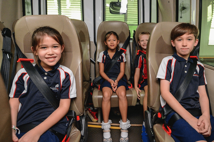 New School Bus Safety Programme To Promote Use Of Proper Child