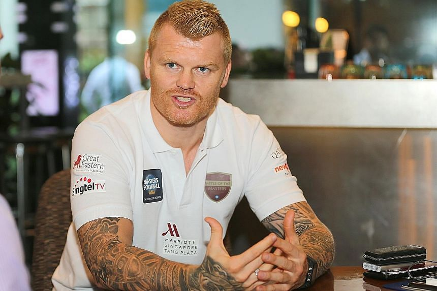 Former Liverpool left-back John Arne Riise (above) and former Arsenal defender Mikael Silvestre will take part in November's Liverpool versus Arsenal Masters match at the National Stadium.