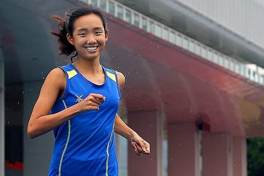 Singapore national triathlete Christy Suriadi (above) has been nominated to take part in the Kuala Lumpur SEA Games in place of Winona Howe, who was dropped as she failed to submit a proper training plan to TAS.