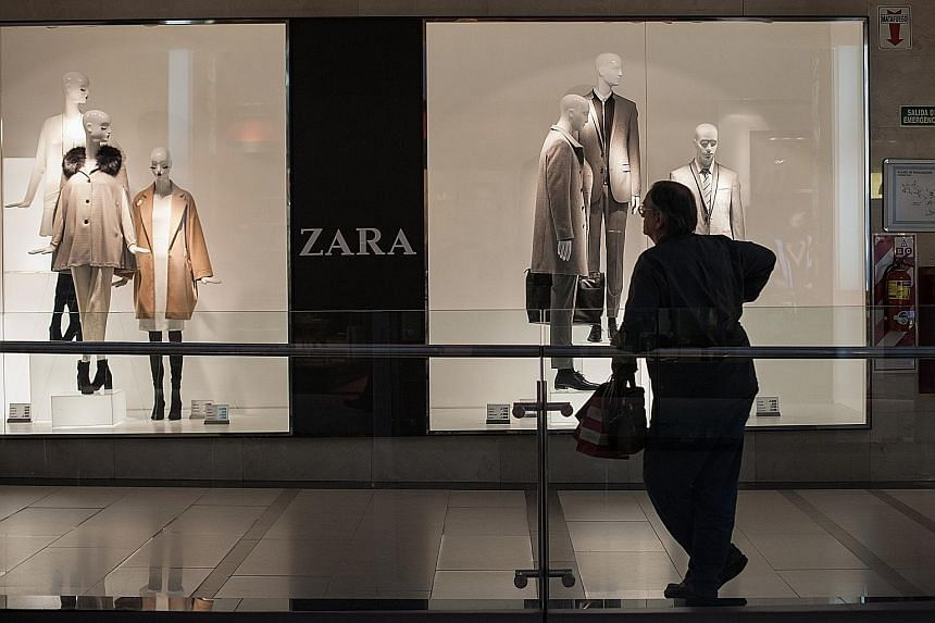 Inditex has adopted one of the retail industry's most advanced inventory- tracking systems across all Zara stores, which make up two-thirds of group sales. It also launched Zara online in Singapore, Malaysia, Thailand and Vietnam.