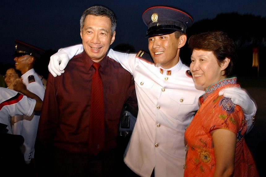 Prime Minister Lee Hsien Loong's son Li Hongyi (centre) said in a Facebook post on Thursday (June 15) that he is not interested in politics.
