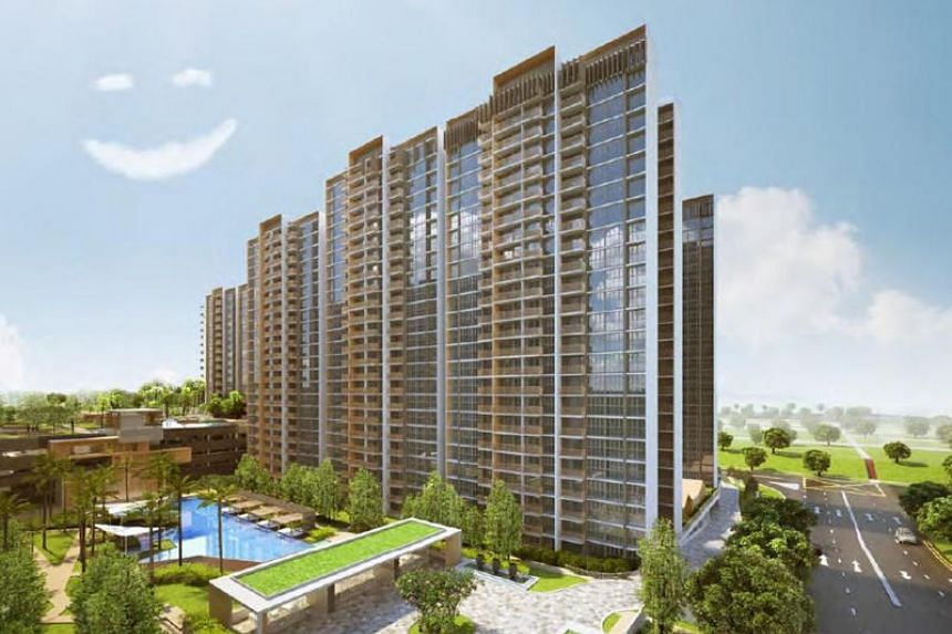 Artist's impression of Sol Acres in Choa Chu Kang, the best performing executive condominium in May, with sales of 116 units.