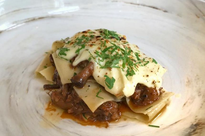 The oxtail in the Malbec Oxtail Pasta is divine. PHOTOS: YEOH WEE TECK