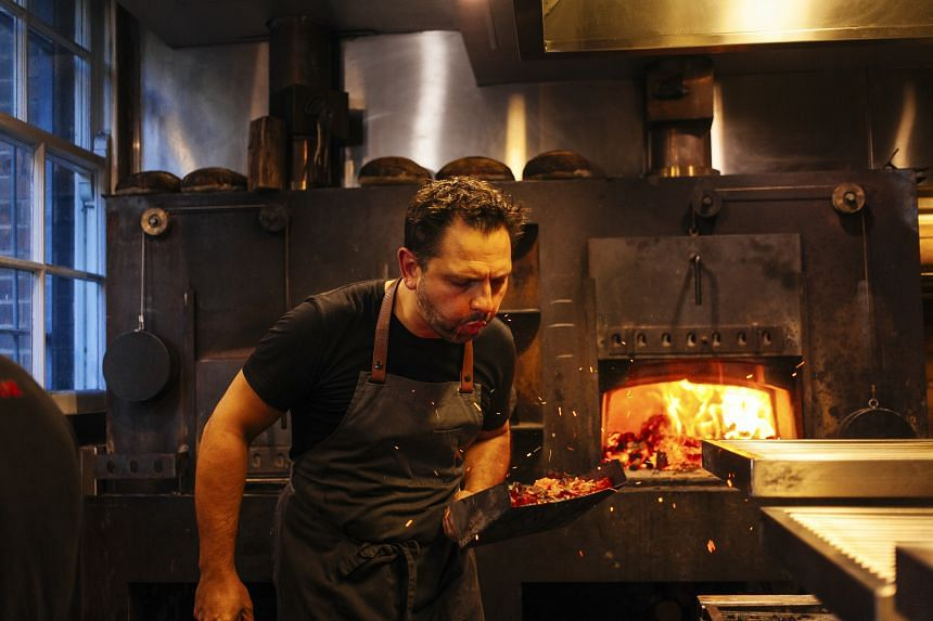 Chef Lennox Hastie was born and raised in England, and at his restaurant Firedoor, he cooks with methods learned over five years at Asador Etxebarri in the Basque Country.