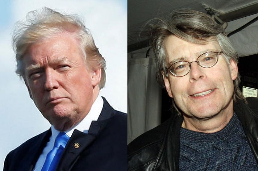 United States President Donald Trump has blocked author Stephen King from following his tweets.
