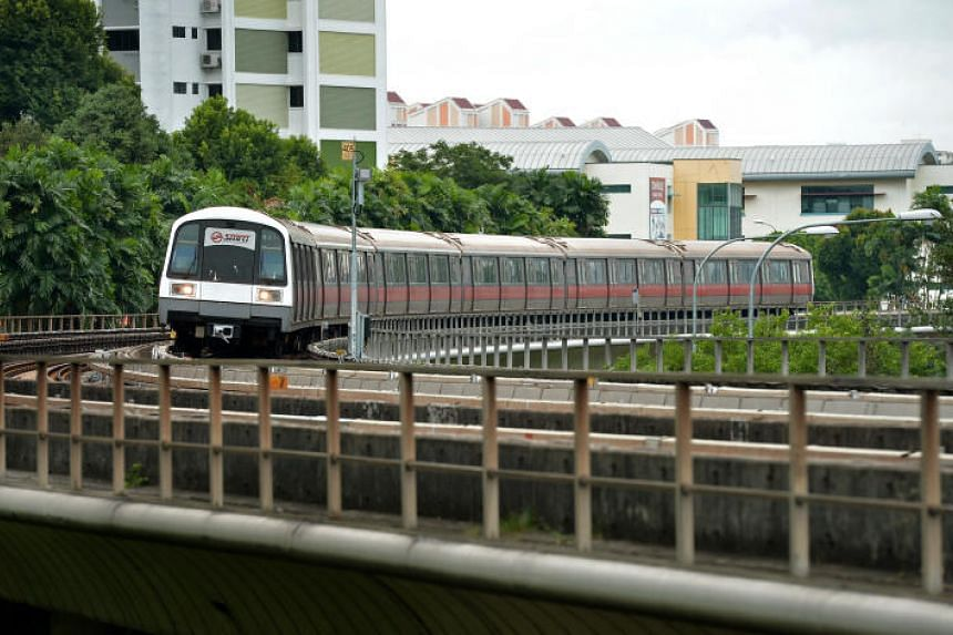 A track circuit fault at Buona Vista led to disruption on the East-West line.